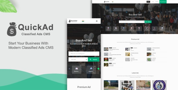 Modern Quickad Classified Template