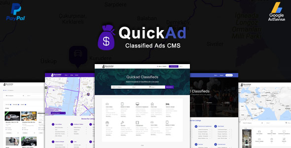 Classified Ads CMS - Quickad
