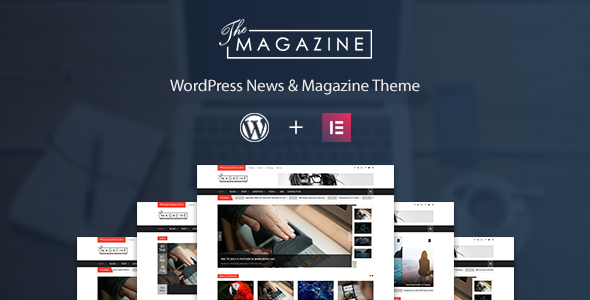 The Magazine - Responsive Magazine & News WordPress Theme